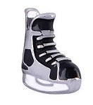 Hockey Skate Floating Charm